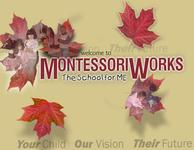 A great web designer: Montessori Works, Mississauga, Canada logo