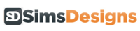 A great web designer: Sims Designs, Devon, United Kingdom logo