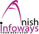 A great web designer: Anish Infoways, New Delhi, India logo