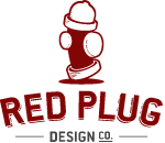 A great web designer: Red Plug Design Co., Virginia Beach, VA logo