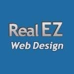 A great web designer: Real EZ Web Design, Atlanta, GA logo