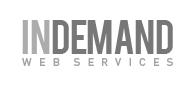 A great web designer: InDemand Web Solutions, Los Angeles, CA logo