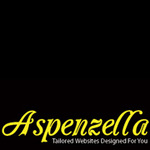 A great web designer: Aspenzella - Affordable Websites, Denver, CO logo