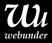 A great web designer: Webunder, Melbourne, Australia logo