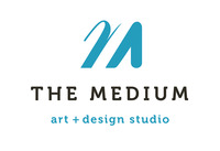 A great web designer: The Medium, Seattle, WA logo