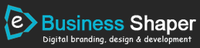A great web designer: e Business Shaper, New Delhi, India logo