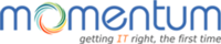 A great web designer: Momentum Infotech, New York, NY logo