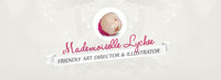 A great web designer: Mademoiselle Lychee, Paris, France logo