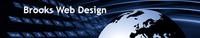 A great web designer: Brooks Web Design, Orlando, FL logo