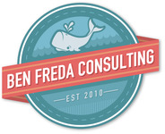 A great web designer: Ben Freda Consulting, New York, NY logo