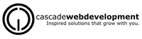 A great web designer: Cascade Web Development, Portland, OR logo