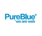 A great web designer: PureBlue.co.uk, London, United Kingdom logo