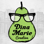 A great web designer: Dina Marie Creative, Portland, OR logo