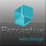 A great web designer: PerceptiveWebDesign, Los Angeles, CA logo
