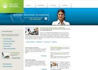 A great web designer: Mackey Web Design, Miami, FL logo