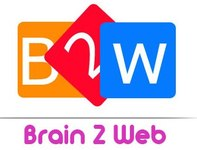 A great web designer: Brain2web Systems, New York, NY logo