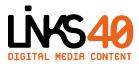 A great web designer: Links40, Barcelona, Spain logo