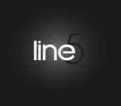 A great web designer: Line5 Design, Oklahoma City, OK logo