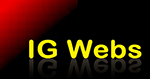 A great web designer: IG Webs, Huntsville, AL logo