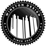 A great web designer: Winston Design, Stockholm, Sweden logo