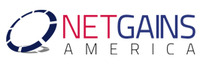 A great web designer: NetgainsAmerica , New York, NY logo