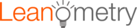 A great web designer: Leanometry LLC, Los Angeles, CA logo
