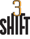 A great web designer: Shift3, Fresno, CA logo