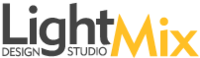 A great web designer: LightMix Design Studio, Washington DC, DC logo