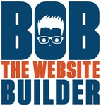 A great web designer: Bob The Website Builder, Minneapolis, MN logo