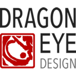A great web designer: Dragon Eye Design, Austin, TX logo
