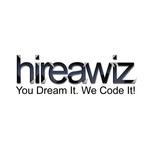 A great web designer: HireAWiz Web Design, Glendale, AZ logo