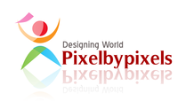 A great web designer: pixelbypixels, Mumbai, India logo