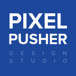 A great web designer: Pixel Pusher Design Studio, Paranaque, Philippines logo