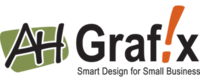 A great web designer: AH Grafix, LLC, Fargo, MN logo
