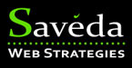 A great web designer: Saveda Web Strategies, Bend, OR logo