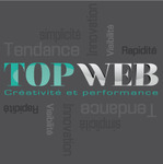 A great web designer: top-web, Montreux, Switzerland logo
