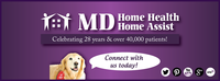 A great web designer: MD Home Health/MD Home Assist, Phoenix, AZ logo
