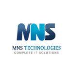 A great web designer: MNS Technoweb Pvt. Ltd., Rajkot, India logo