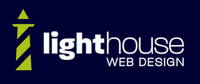 A great web designer: Lighthouse Web Design, Denver, CO logo