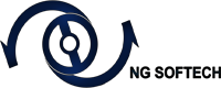 A great web designer: NG Softech, Jaipur, India logo