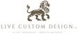 A great web designer: LiveCustomDesign.com, Vancouver, Canada logo