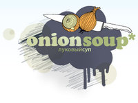 A great web designer: Onion Soup, Saint Petersburg, Russia logo