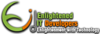 A great web designer: enlighteneditdevelopers, Hyderabad, India logo