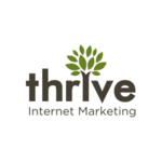 A great web designer: Thrive Internet Marketing, Dallas, TX logo