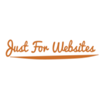 A great web designer: Just for Websites, Cortez, CO logo