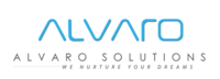A great web designer: Alvaro Solutions, Calicut, India logo