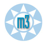 A great web designer: m3 Website Design, Boston, MA logo