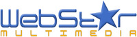 A great web designer: WebStar Multimedia, Toronto, Canada logo