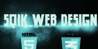 A great web designer: Sqik Web Design, Pittsburgh, PA logo