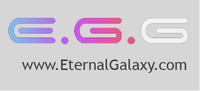 A great web designer: Eternal Galaxy, Washington DC, DC logo